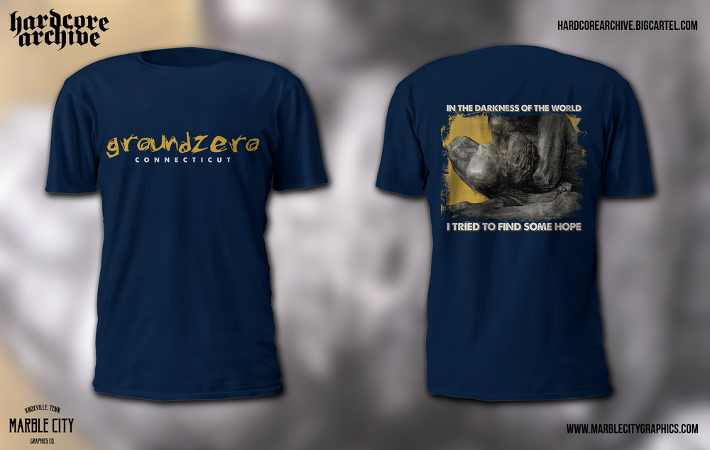 Image of Groundzero shirt preorder