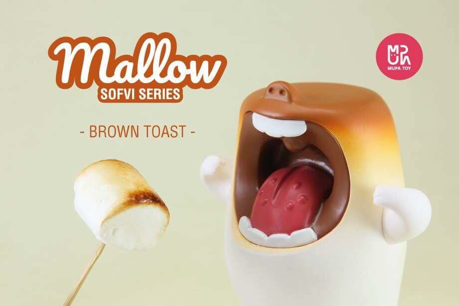 Image of Brown Toast - Mallow SoftVinyl
