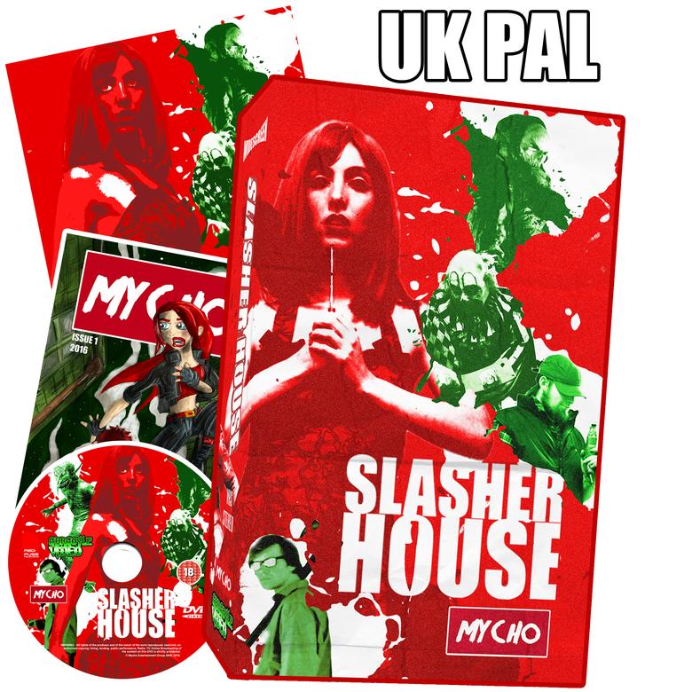 Image of SLASHER HOUSE LIMITED EDITION VHS