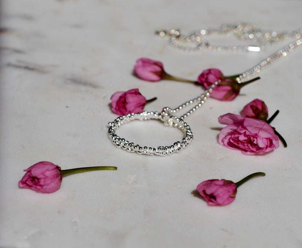 Image of Organica Pendant Necklace - Sterling Silver