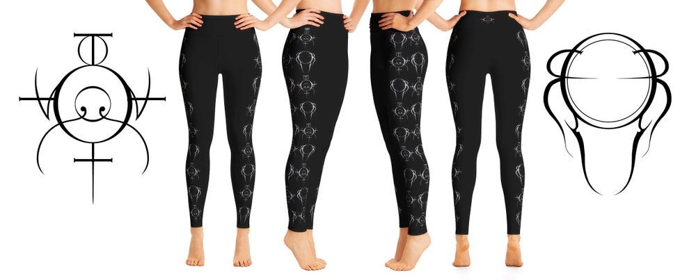 Image of Sigil YOGA Leggings 1 : Protection and courage