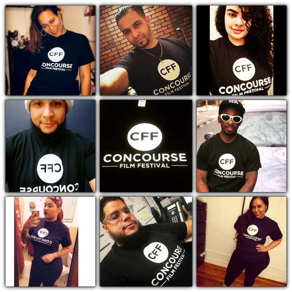 Image of Official Black CFF T-Shirt + 2 Free Stickers