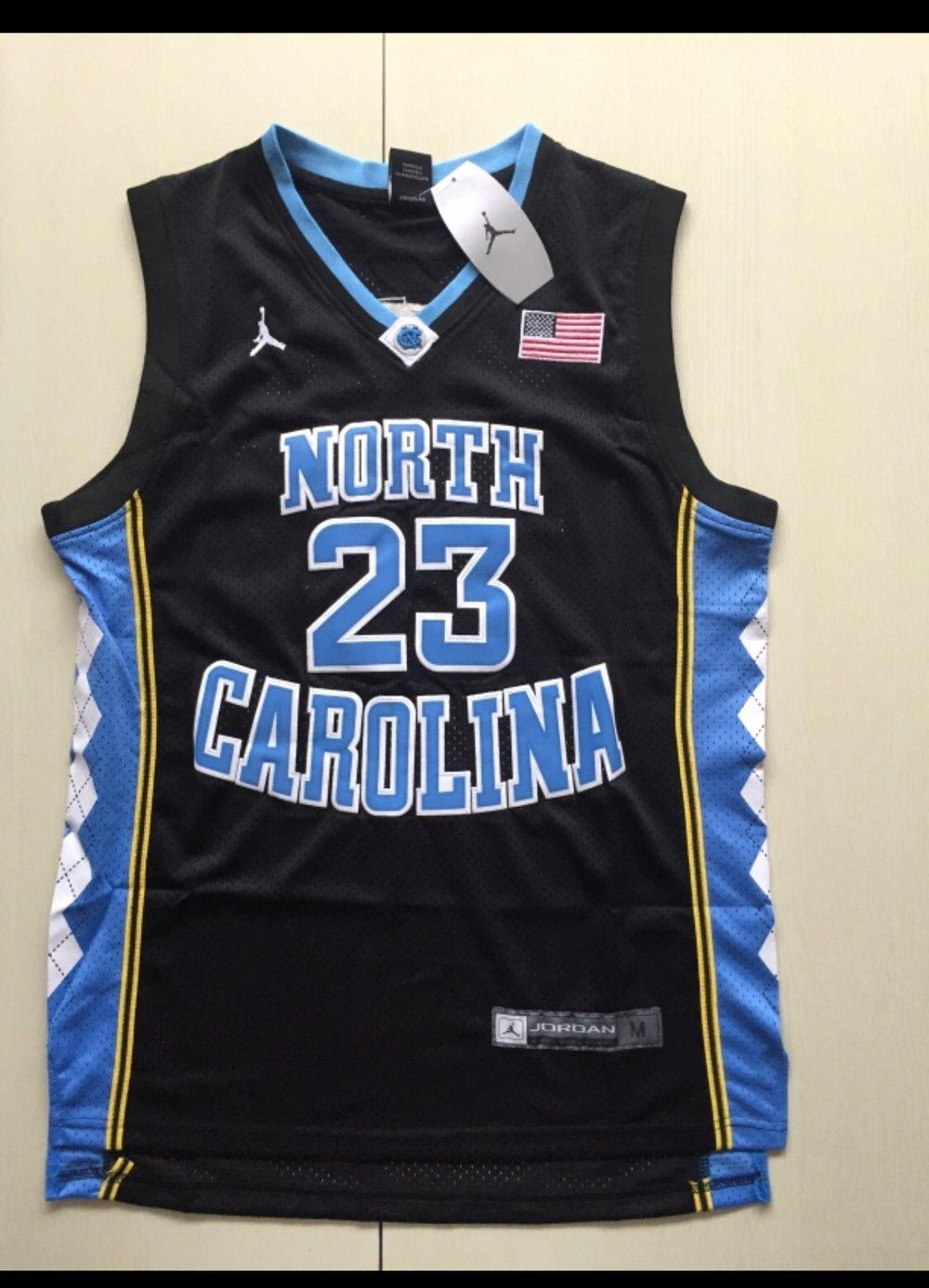 Image of Micheal Jordan Unc Black jersey