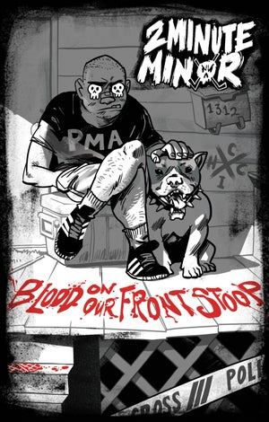 Image of SOLD OUT -  Blood On Our Front Stoop: Cassette