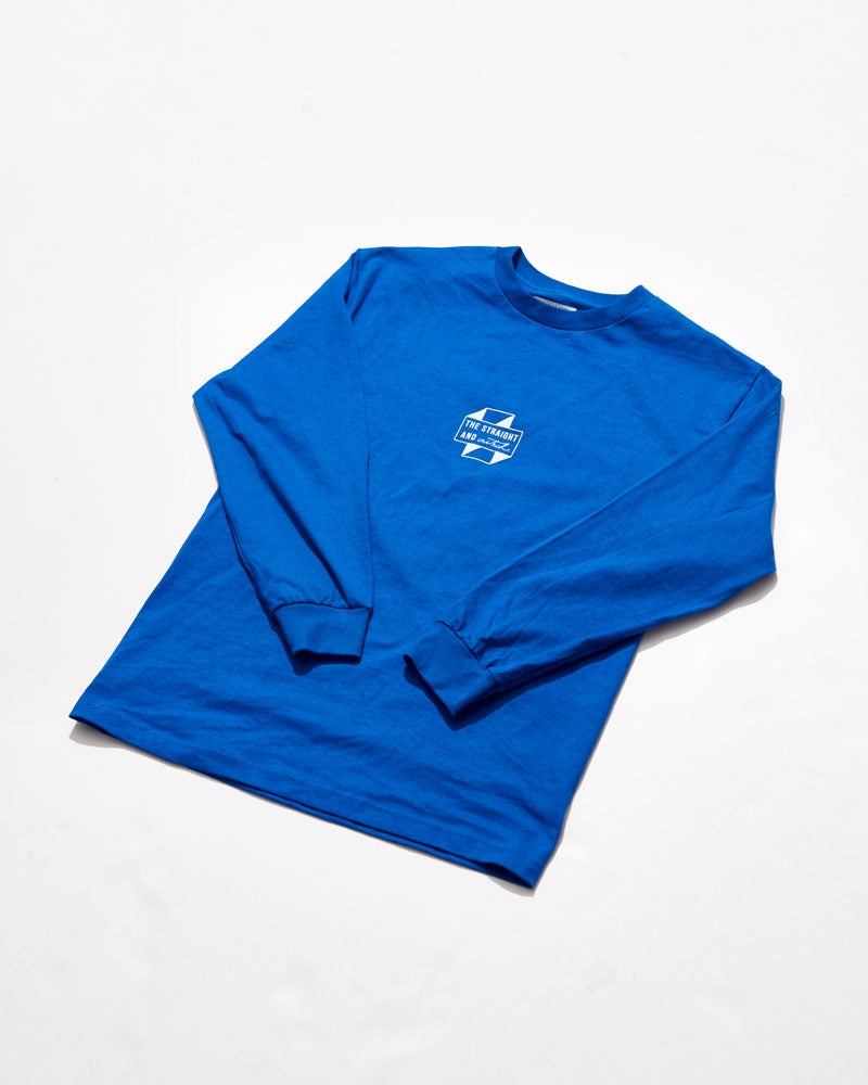 Image of THE STRAIGHT AND AITSCH 2017 PREMIUM DELAYED LONG SLEEVE ROYAL