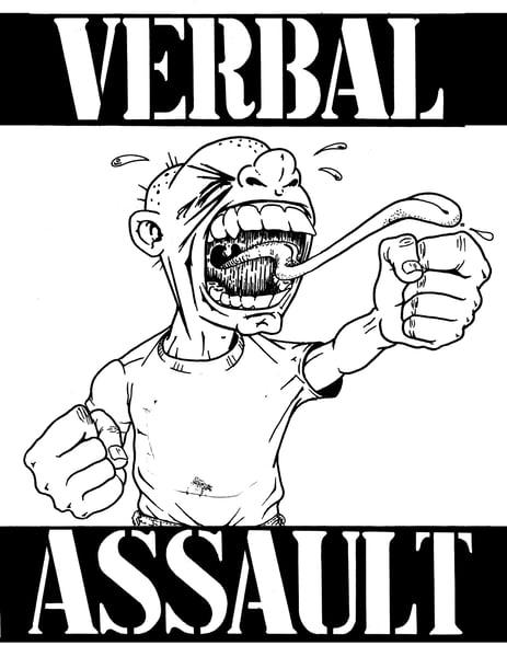 Image of SLP-015: VERBAL ASSAULT A conversation with Christopher Jones