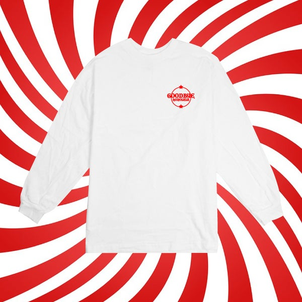 Image of Goodbye Honolulu Red  Crest Long Sleeve (SOLD OUT)