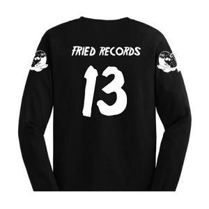 """Image of """"Fried The 13th"""" Black Long Sleeve"""