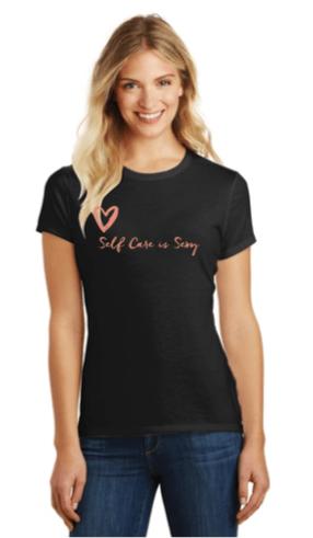 Image of V Neck T-shirt