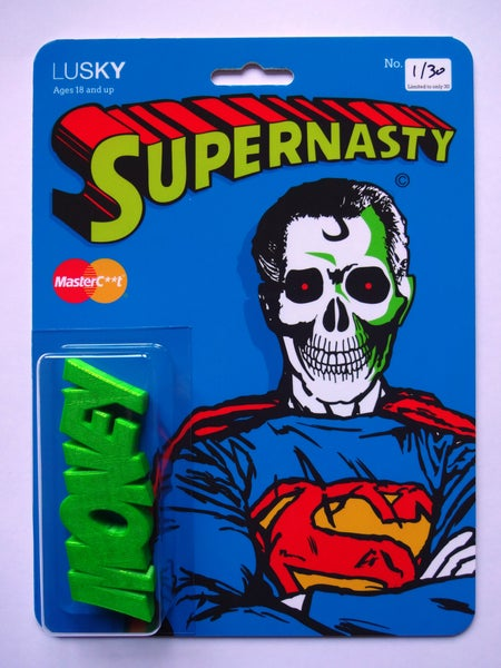 Image of Supernasty Money in Kryptonite Green
