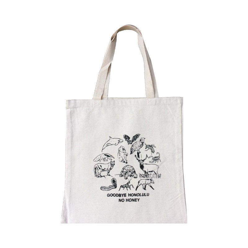 "Image of Goodbye Honolulu ""No Honey"" Tote"