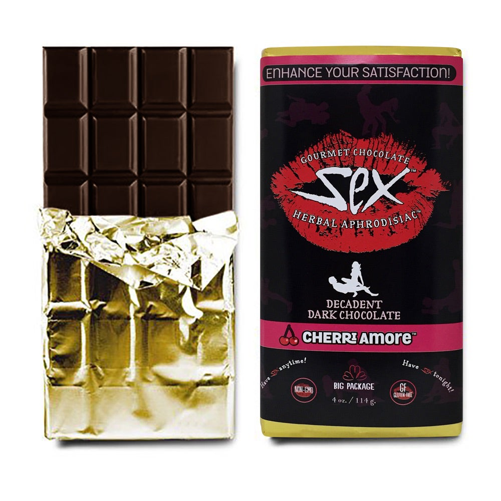 Image of Gourmet Aphrodisiac Chocolate Bar - (Cherry/Dark Chocolate)