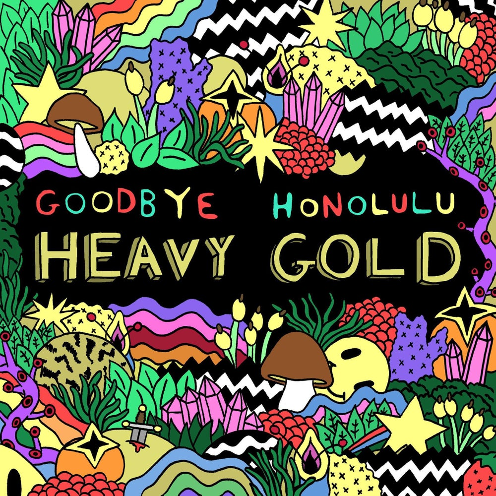 Image of Goodbye Honolulu - Heavy Gold CD