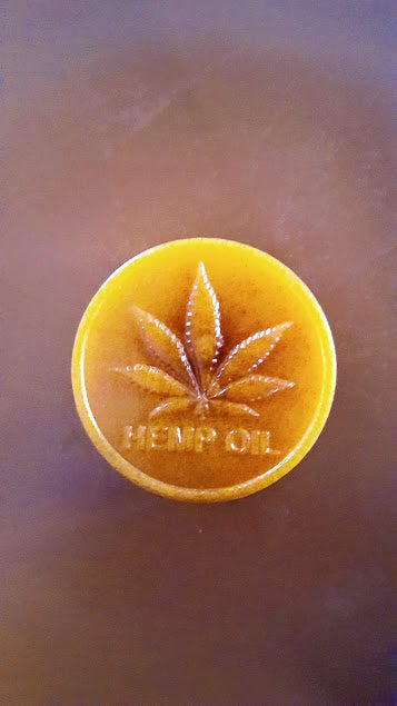 Image of HEMP SEED OIL, HONEY AND TURMERIC SOAP
