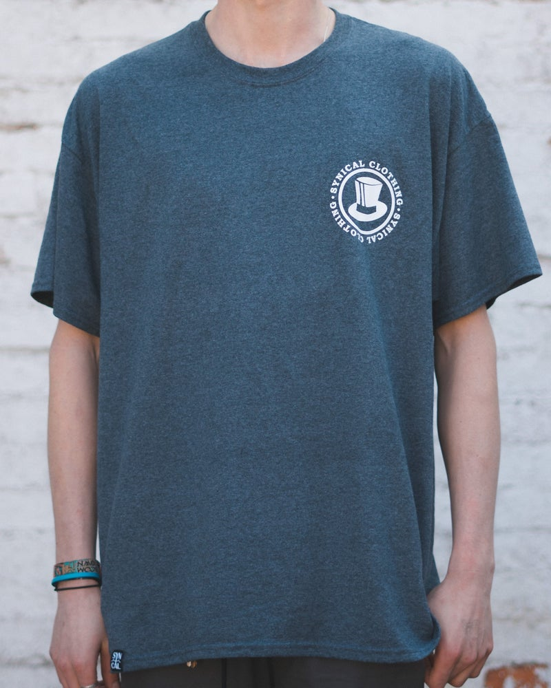 Image of Synical Stamp T-Shirt - Heather Grey
