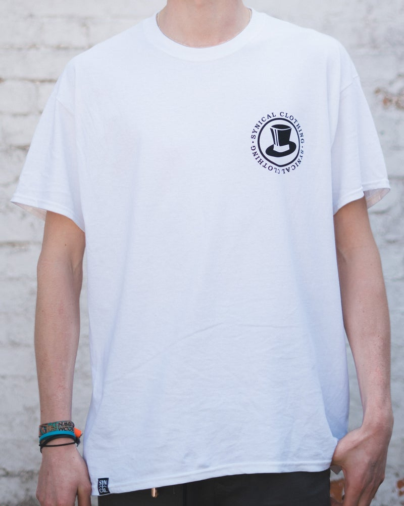 Image of Synical Stamp T-Shirt White