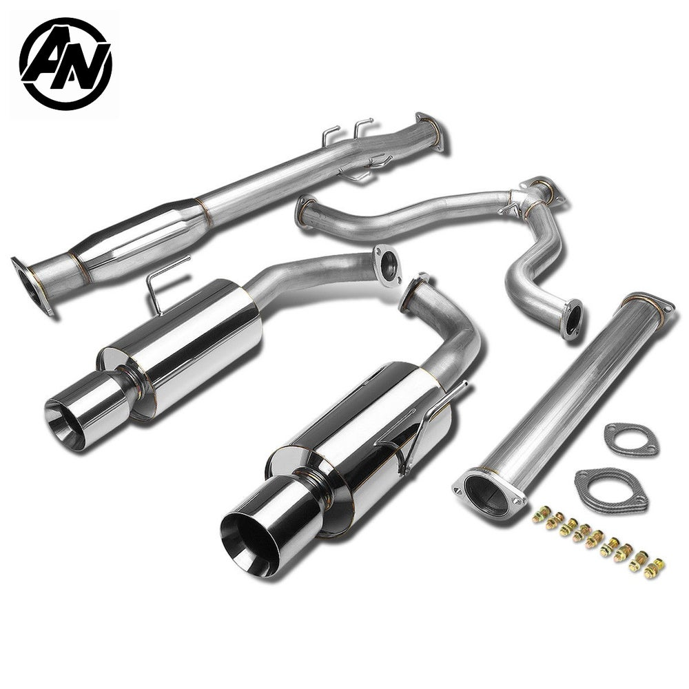 Image of (L32A) PERFORMANCE DUAL CATBACK EXHAUST 07-12 SEDAN (VQ35 & QR25)