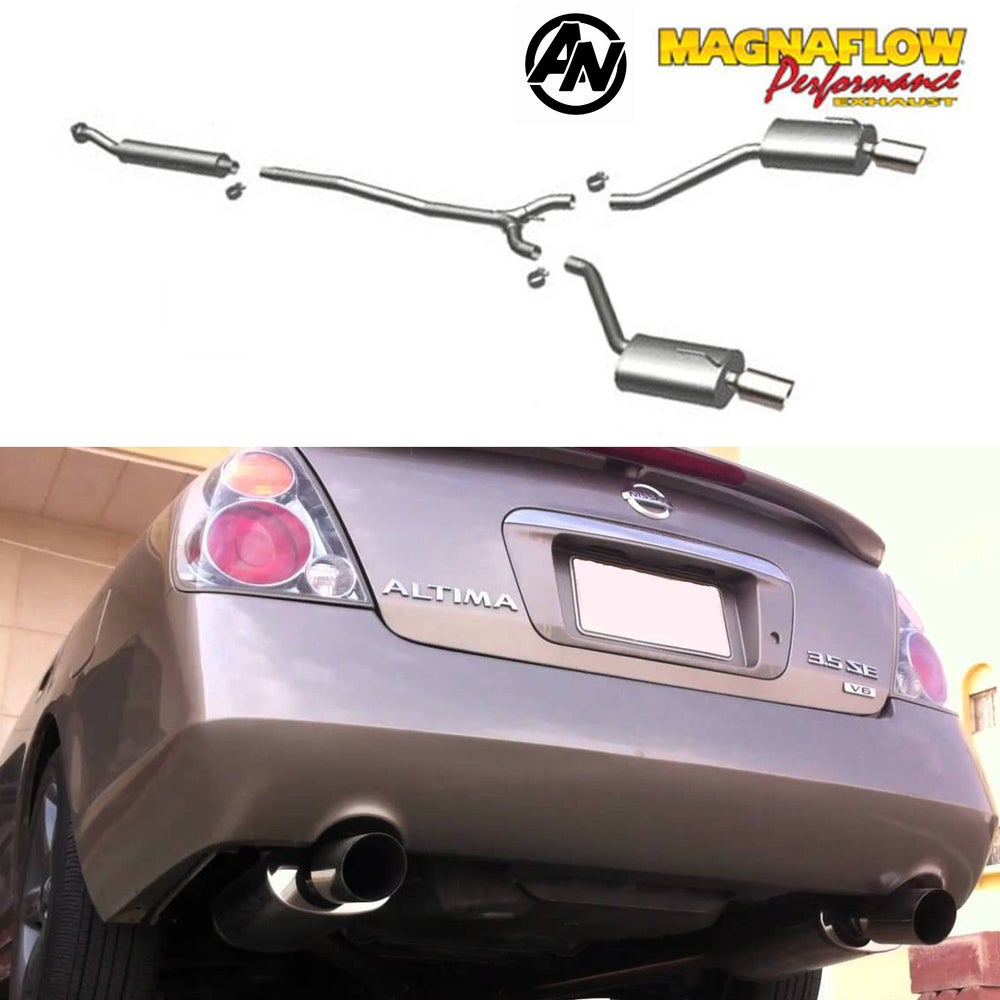 Image of (L31) MAGNAFLOW PERFORMANCE DUAL CATBACK EXHAUST 02-06 SEDAN (VQ35)