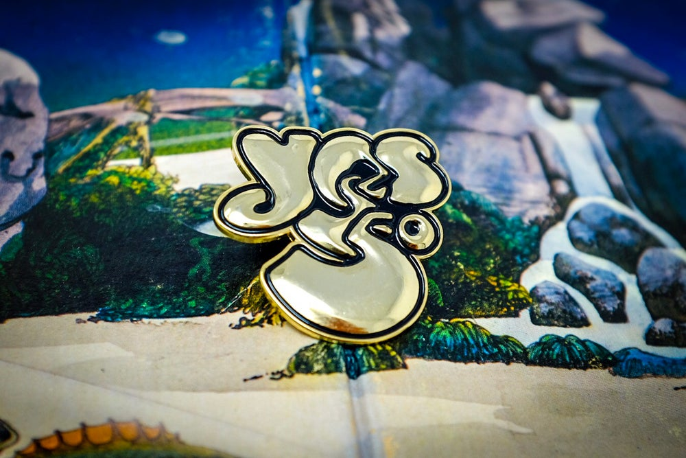 Image of Yes '50th Anniversary' Enamel Pin