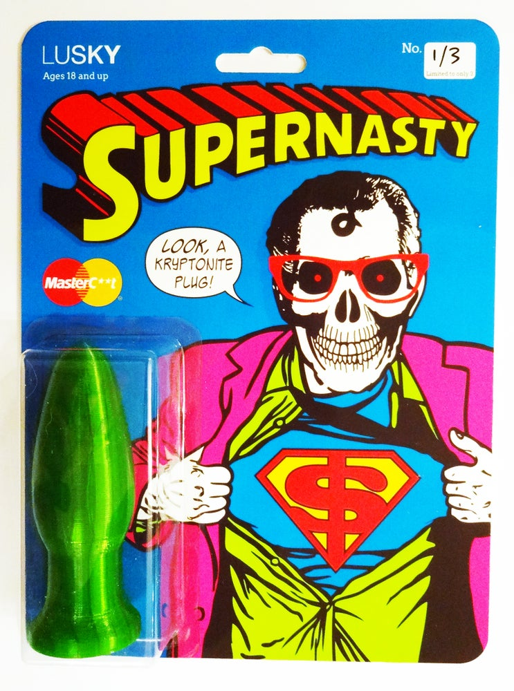 Image of Supernasty Clark Kryptonite Butt Plug