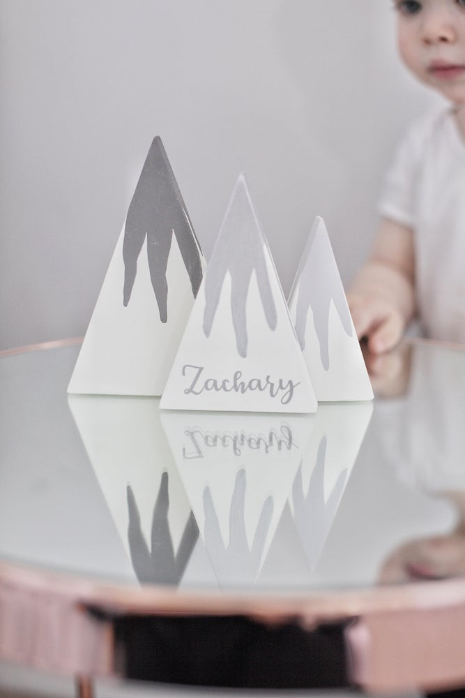 Image of Personalised mountains