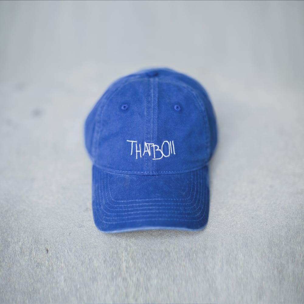 Image of THATBOII CAP - BLUE