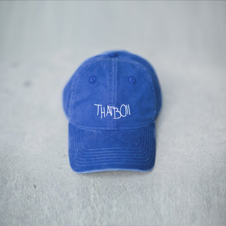 Image of THATBOII CAP - BLUE