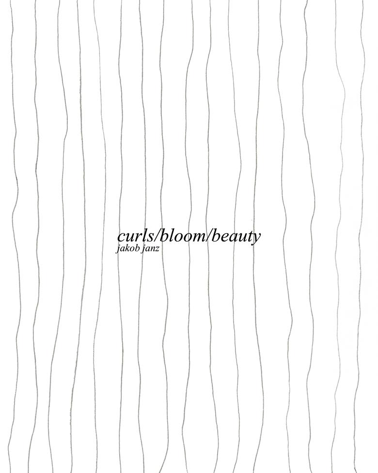 "Image of ""curls/bloom/beauty"" photo zine"