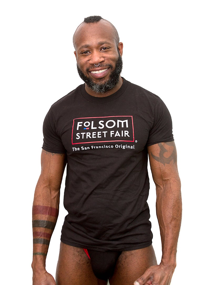 Image of Folsom Street Fair Color Logo T-Shirt