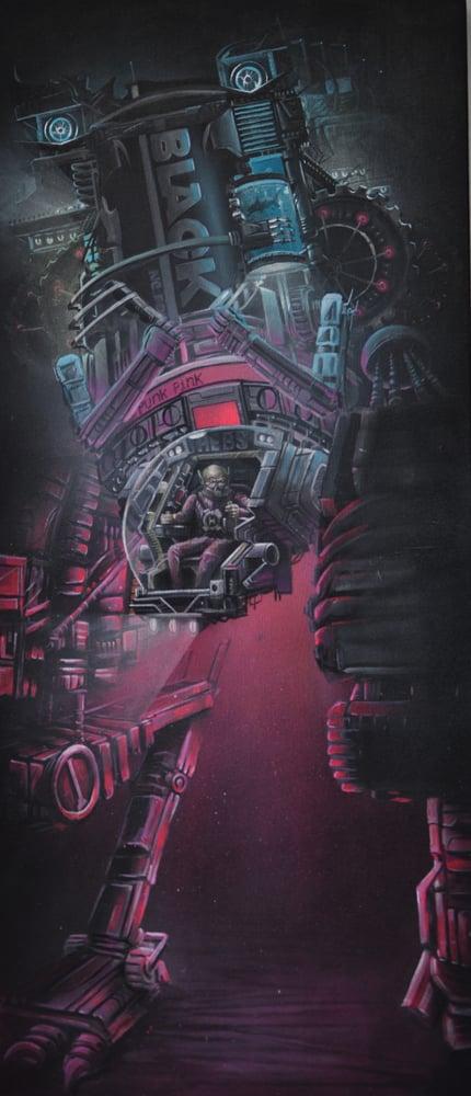 """Image of """"The Dark Passenger"""""""