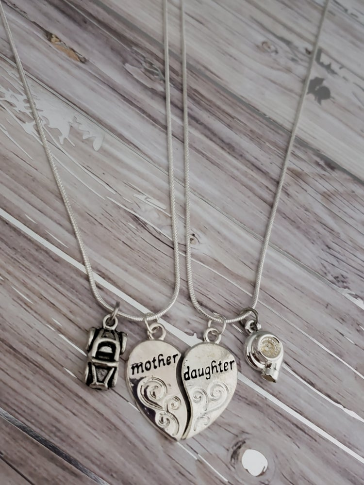 Image of LIMITED Mother's Daughter Car Part Necklaces!