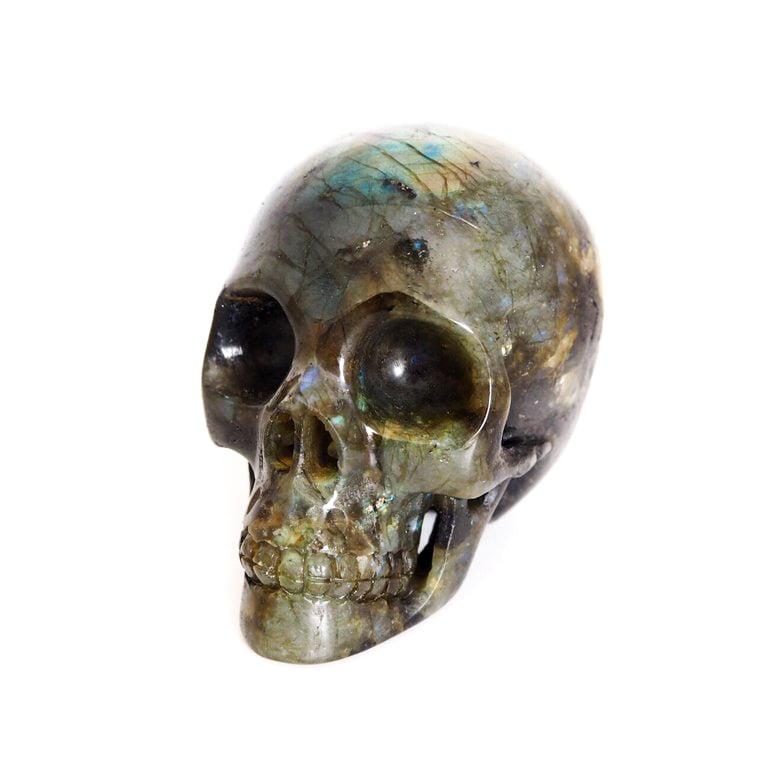 Image of Labradorite Carved Crystal Skull