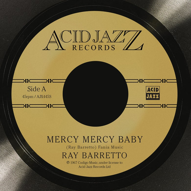 Image of Ray Barretto - Mercy Mercy Baby (Pre-Order)