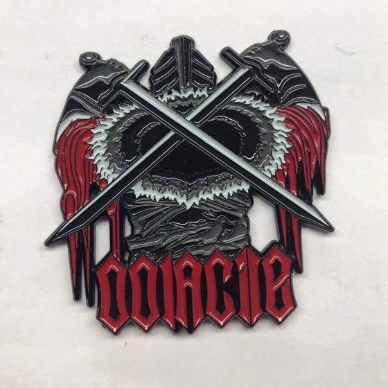 Image of Oolacile Blood Knight Pin