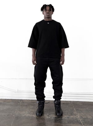Image of Black French Terry T-Shirt