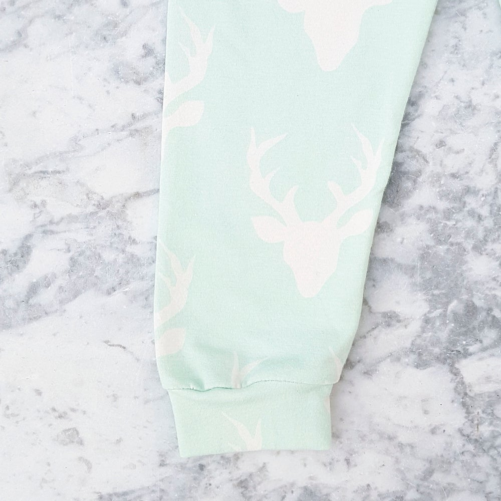 Image of Mint Green Stag Leggings