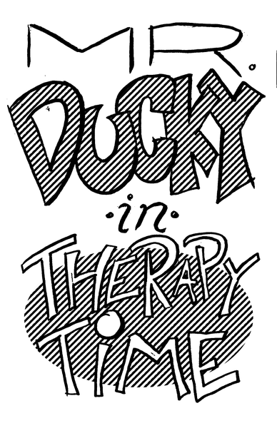 Image of Mr. Ducky Minicomic No. 1: Therapy Time