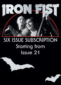 Image of Six Issue Subscription (from Issue Twenty One)