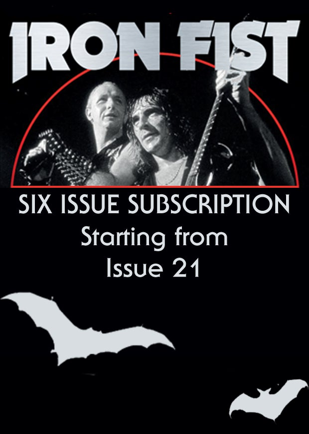 Six Issue Subscription (from Issue Twenty One)