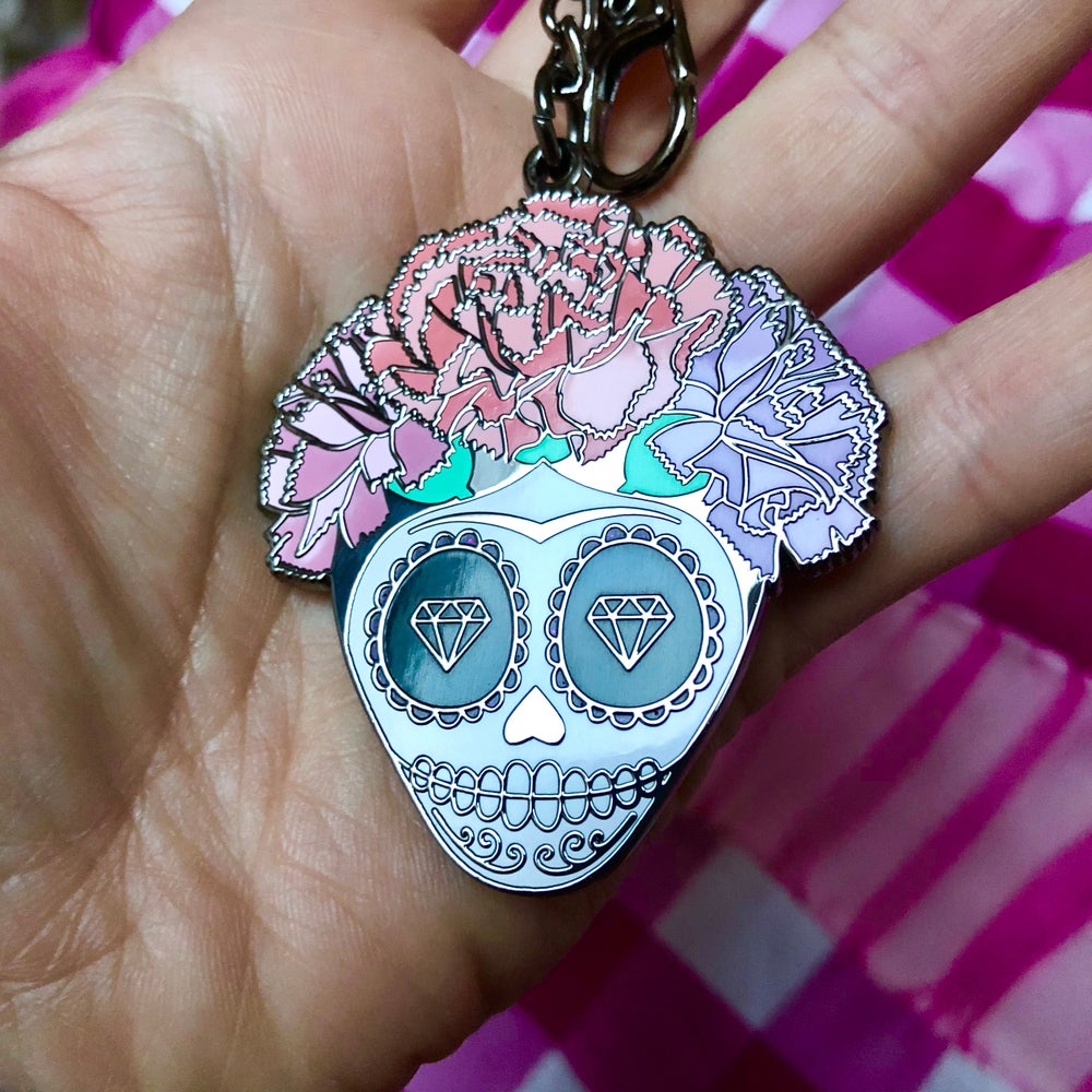 Image of Frida La Catrina keychain / bag charm