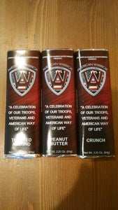 Image of American Warrior Festival Pack of 10 Candy Bars made by Oliver's Candies