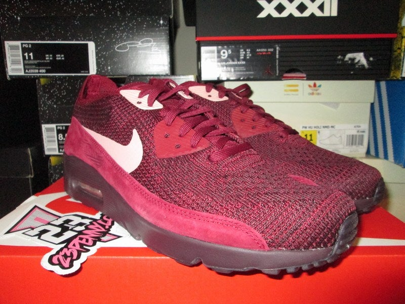 fa07039a64d23 nike air max 90 ultra digital pink; air max 90 ultra 2.0 flyknit team red  rust pink famprice.