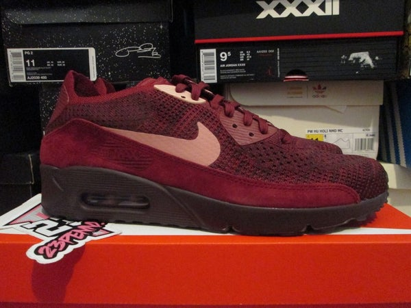 "Air Max 90 Ultra 2.0 Flyknit ""Team Red/Rust Pink"" - FAMPRICE.COM by 23PENNY"
