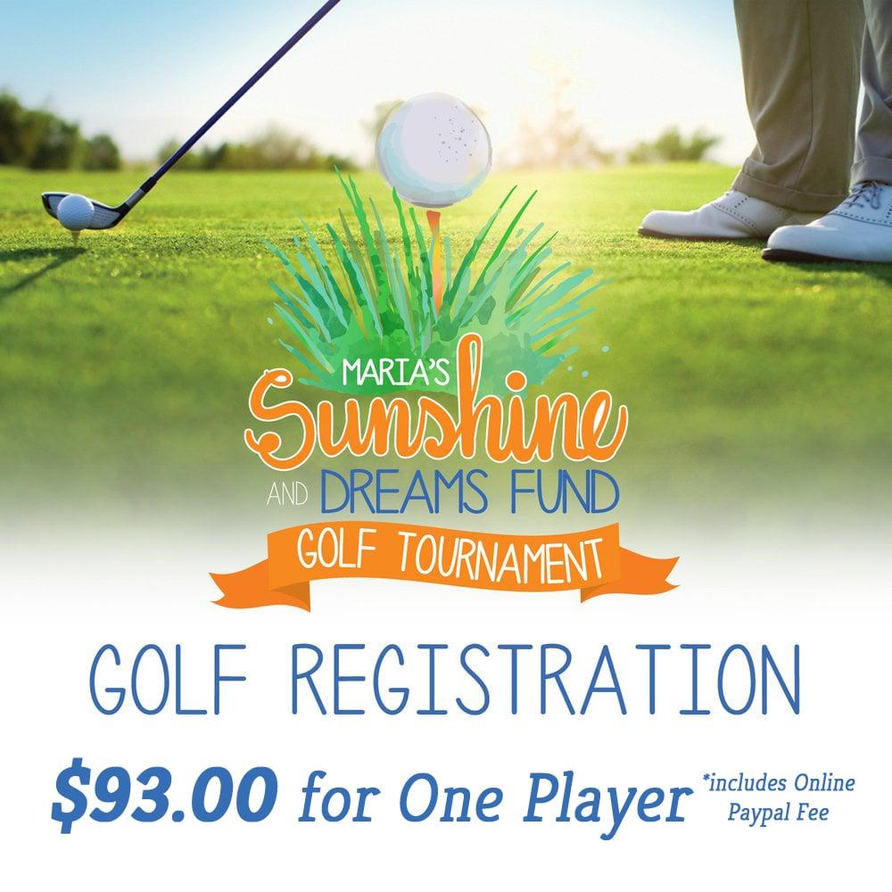 Image of Golf Tournament Registration/One Golfer