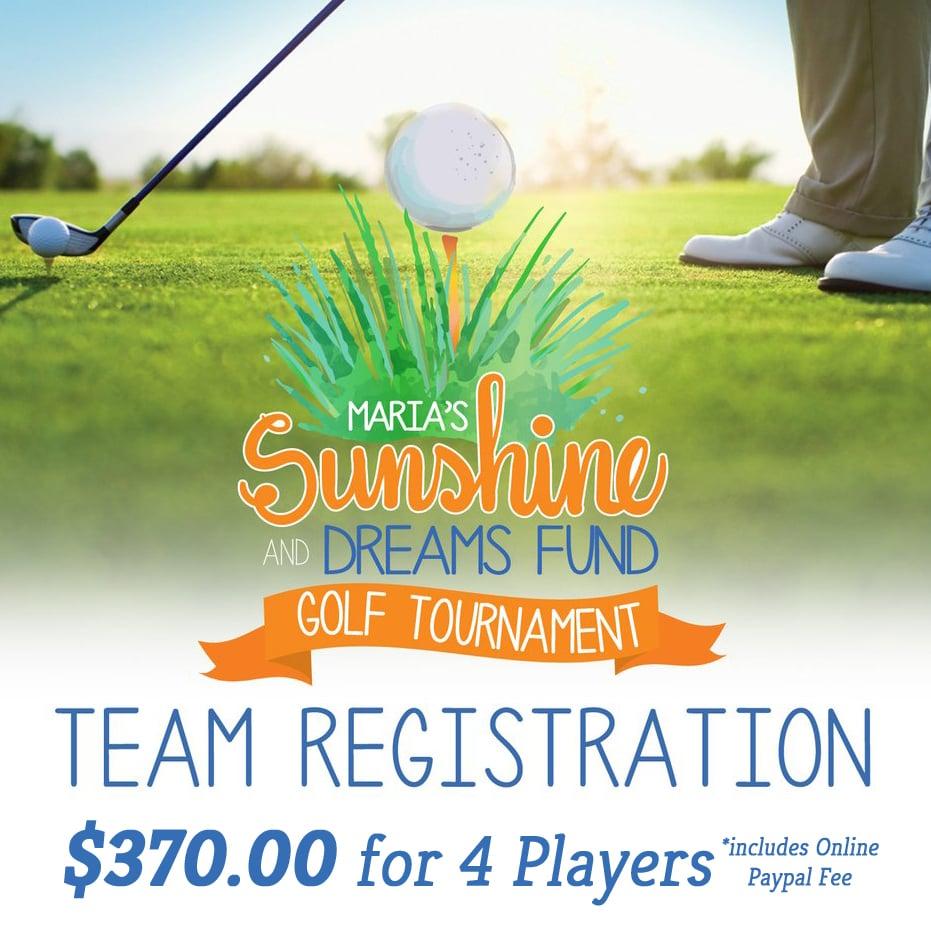 Image of Golf Tournament Registration/Team of 4