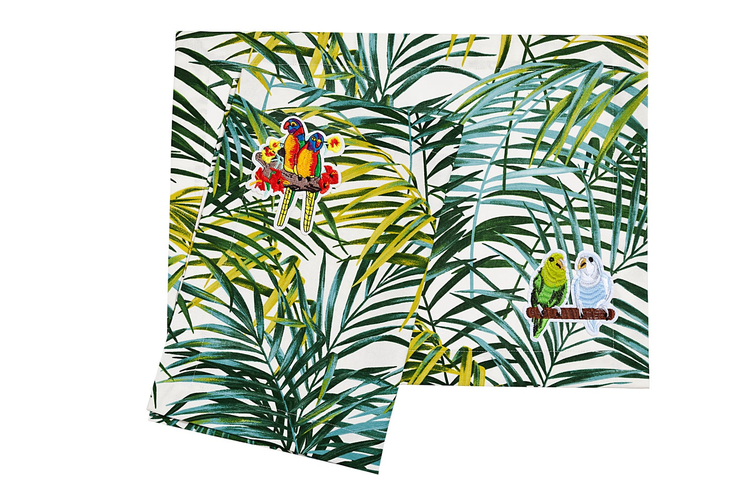 Image of 2 Palm Collection placemats  -   2 Tovagliette americane Collezione Palm
