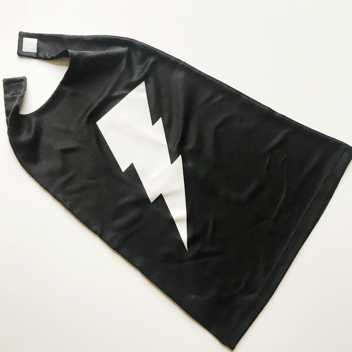 Image of GLOW-IN-THE-DARK BOLT CAPE
