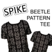 Image of Spike the Beetle Pattern Tee