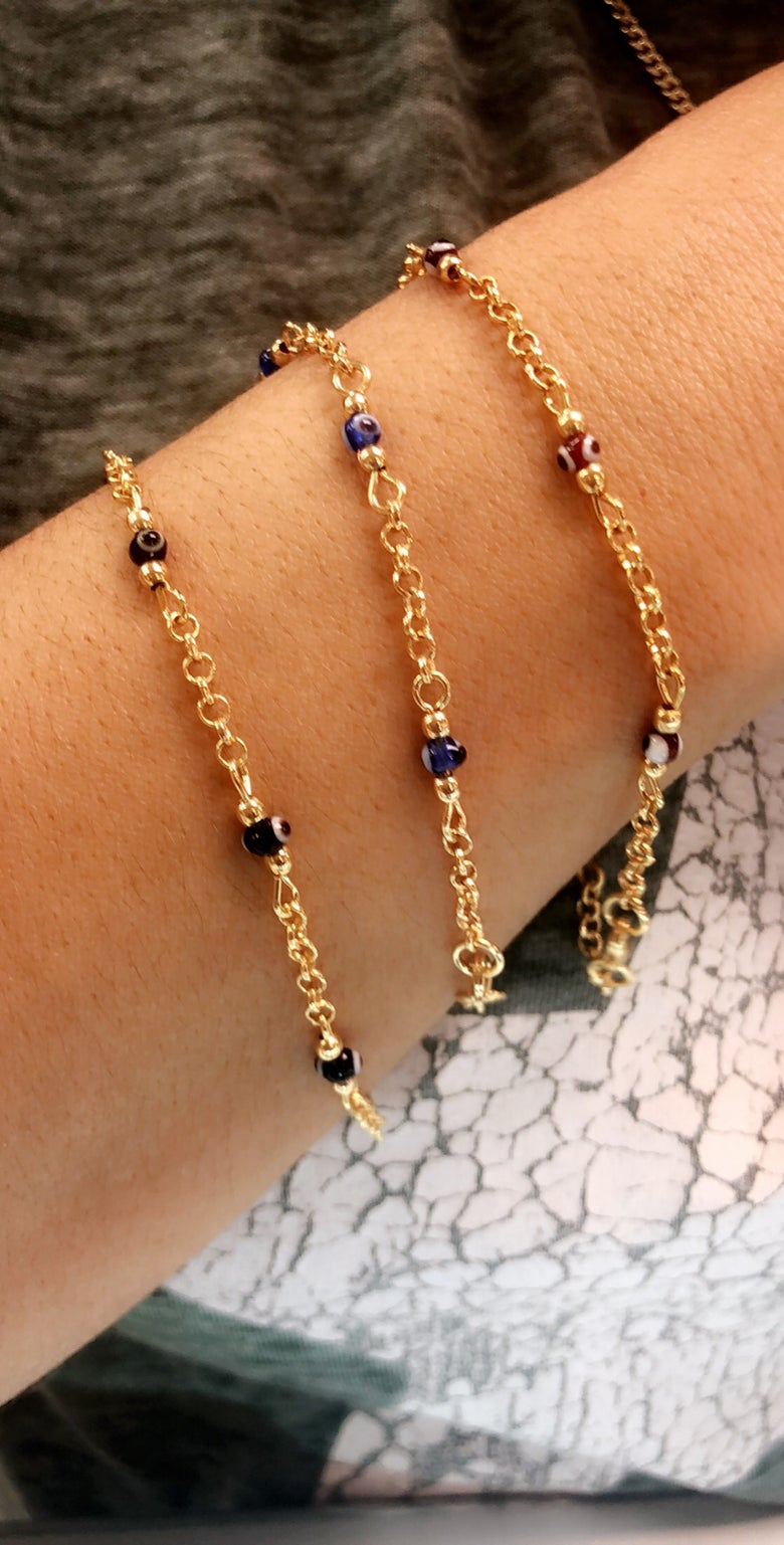 Image of Evil Eye Beaded Bracelets (sold separately)