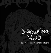 "Image of DISGUSTING VOID - ""1989-1999 Trajectory"" CD"